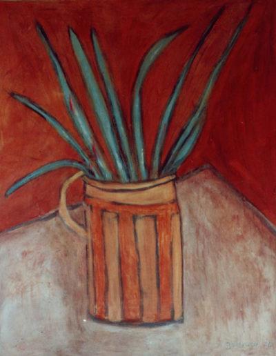 Krug, 120 x 150 , Acryl auf Hartfaser, 1996
