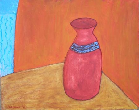 Krug, 65 x 75 , Acryl auf Hartfaser, 2006