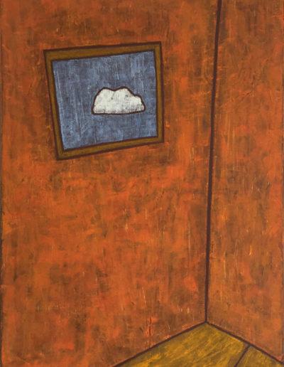 Wolke, 60 x 80 , Acryl auf Leinwand, 2016