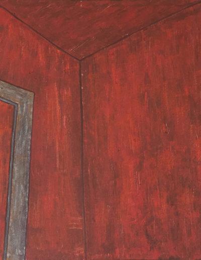 oter Raum Spiegel, 78 x 118 , Acryl auf Leinwand, 2016